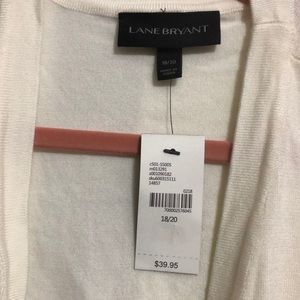 Lane Bryant Sweaters - Cropped Sweater With Ruffled Sleeves